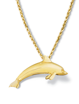 Dolphin Pendant Medium