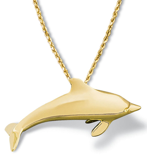 Dolphin Pendant Large