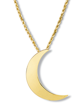 Crescent Moon Pendant