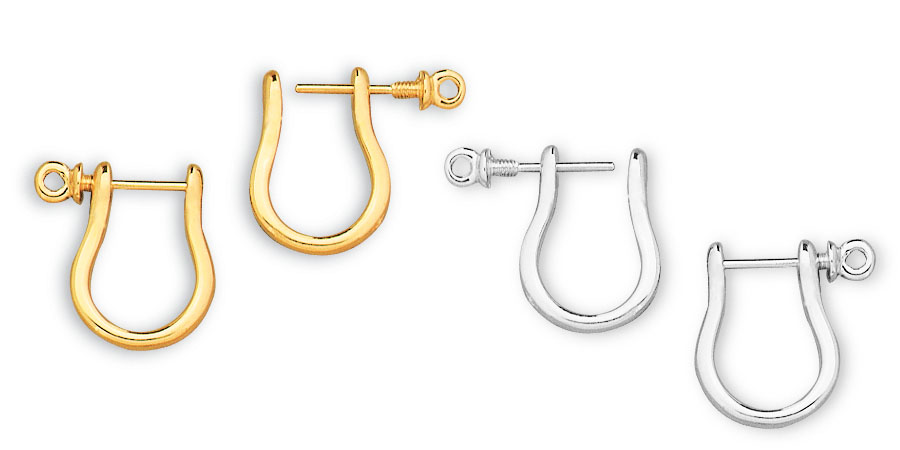 shackle earrings aga correa since 1969 shackle earrings original 8186