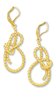 Bowline Dangle Earrings