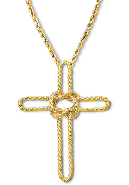 Sailors Cross Pendant Large