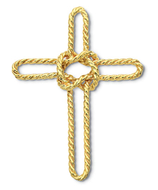 Sailors Cross Pin Large