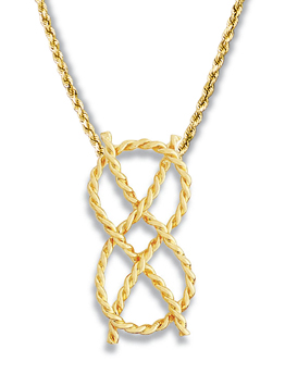 Lovers Knot Pendant