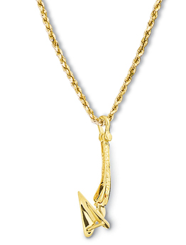 Cqr Anchor Pendant Small