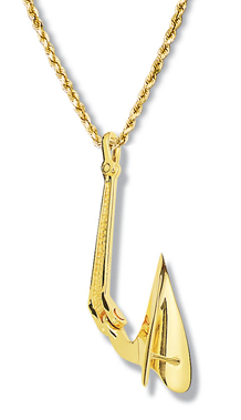 Cqr Anchor Pendant Large
