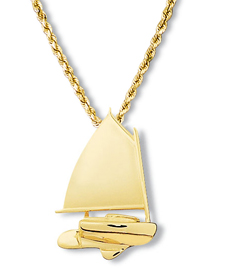 Catboat Pendant Large