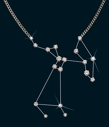 Diamond Constellation Sagittarius Necklace 18