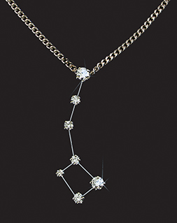 Diamond Constellation Little Dipper Pendant