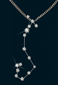 Diamond Constellation Scorpio Pendant