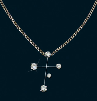 Diamond Constellation Southern Cross Pendant
