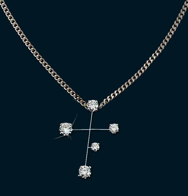 Aga correa son diamond constellation southern cross pendant diamond constellation southern cross pendant aloadofball Choice Image