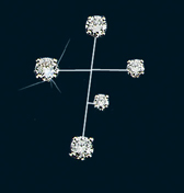 Diamond Constellation Southern Cross Pin