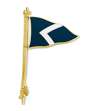 Enamel Single Flag Pin