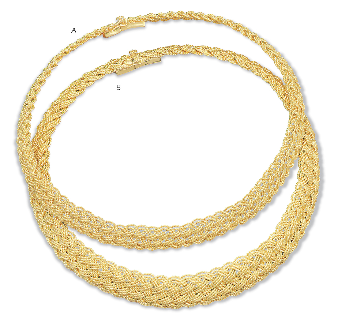 Prolong Knot 3 Strand Necklace  (B)
