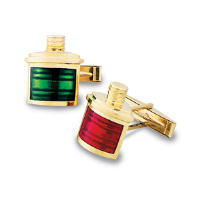 Port & Starboard Enamel Cuff Links