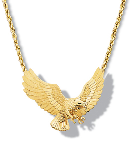 Eagle Flying Necklace 18