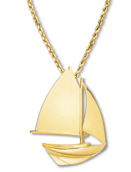 Sloop Pendant Large Gaff