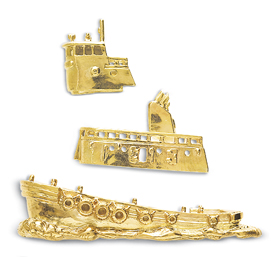 Tugboat Pin