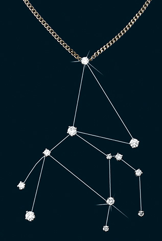 Diamond Constellation Pegasus Pendant