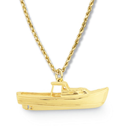 Lobsterboat Pendant