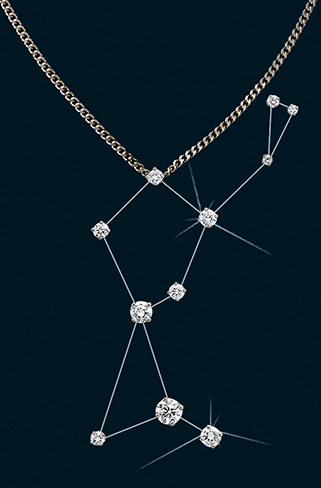 Diamond Constellation Herdsman Pendant