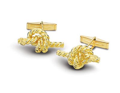 Stopper Knot Cuff Links