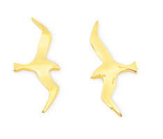Gull Smooth Earrings