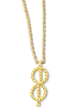 Figure Eight Knot Pendant