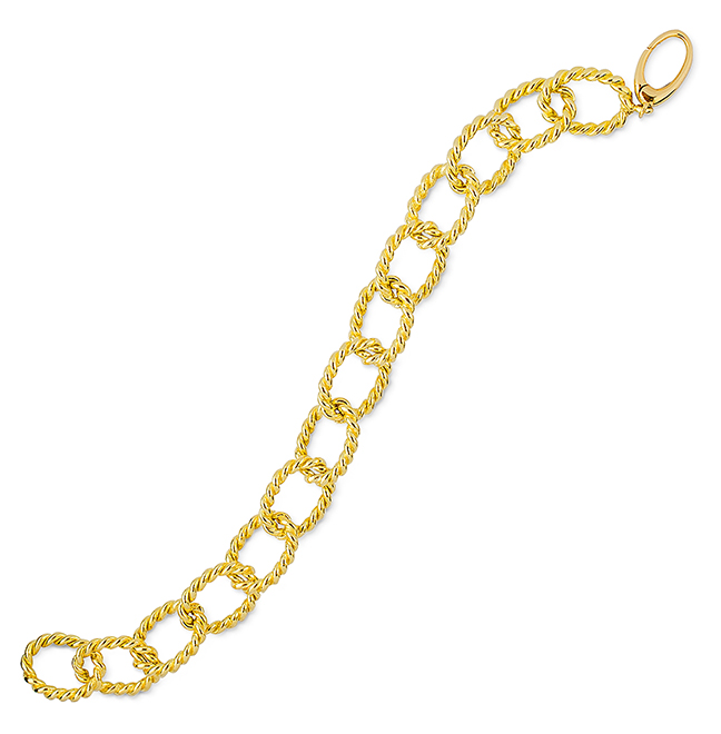 Twisted Rope Link Bracelet 7