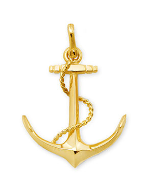 Anchor with Rope Pin