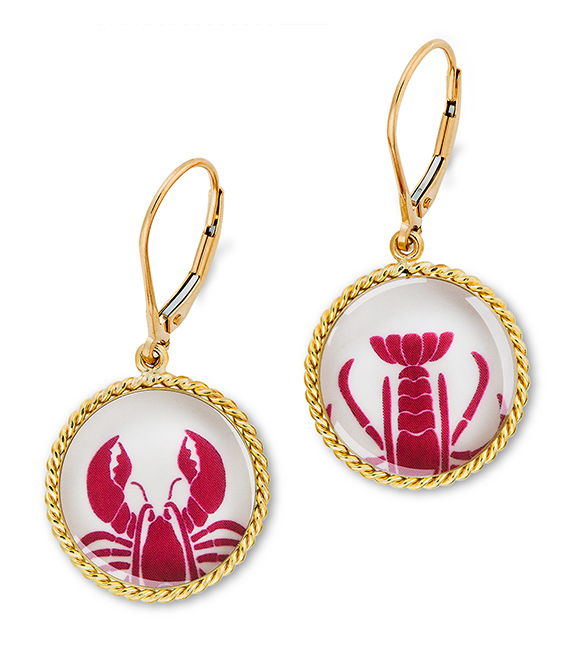 Correa/Chart Metalworks Collaboration Lobster Claw/Tail Earrings
