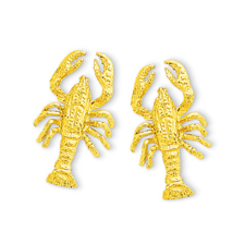 Maine Lobster Small Earrings