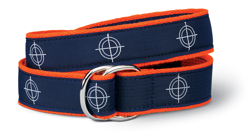 Center of Effort Navy D-Ring Belt