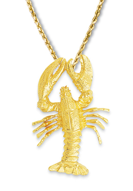 Maine Lobster Large Pendant
