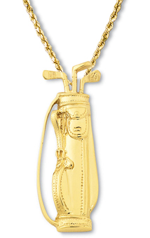 Golf Bag Pendant