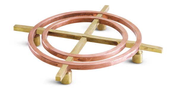 Center of Effort Copper and Brass Trivet