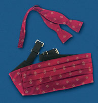 Center of Effort Cummerbund/Bow Tie Set