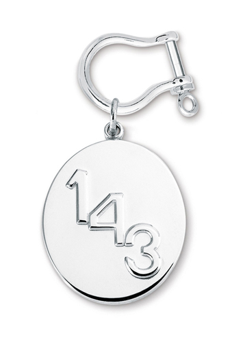 1-4-3 Key Ring  with Shackle