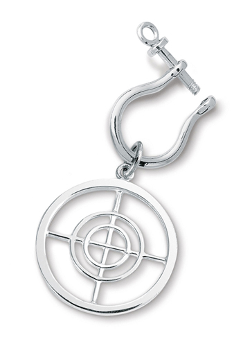 Center of Effort Key Ring  with Shackle
