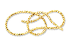 Bowline Hand-tied Pin Large