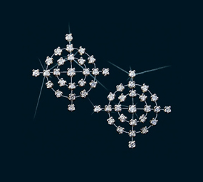 Center of Affection Diamond Stud Earrings