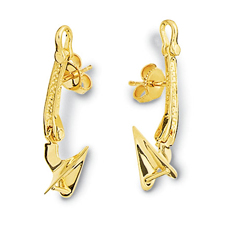 Cqr Anchor Earrings