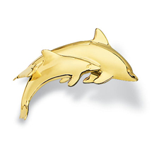 Dolphin Pin Small Pair