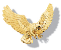 Eagle Flying Pin
