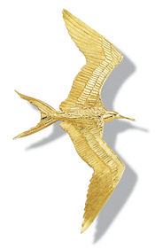 Frigate Bird Pin