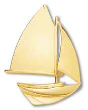Sloop Pin Large Gaff