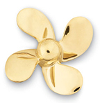 Propeller 4 Blade Pin Large