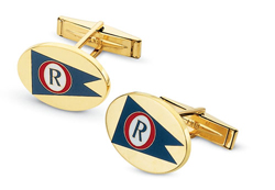 Enamel Burgee Cuff Links