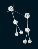 Diamond Constellation Sagitta Earrings